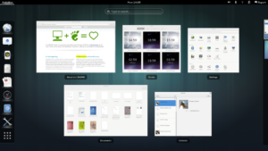 Gnome desktop environment